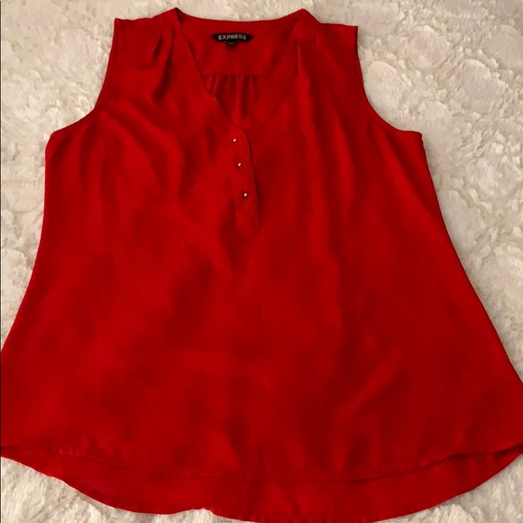 414d787fdfc Dressy red top